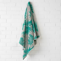 Canyan Turquoisel Beach Towel