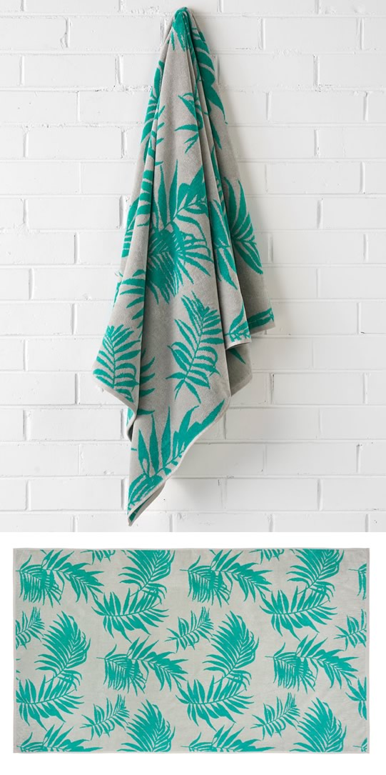 Canyon Turquoise Beach Towel
