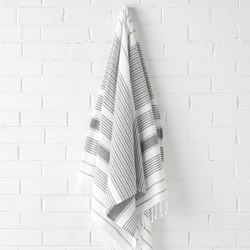 Hammam Charcoal Beach Towel