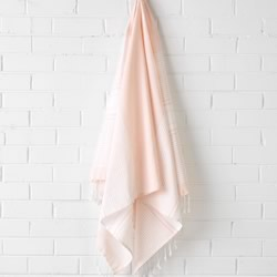 Hammam Peach Beach Towel