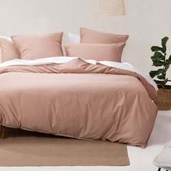 Nara Clay Quilt Cover Set