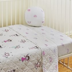 Fairies Cot Fitted Sheet