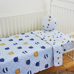 Monsters Cot Quilt