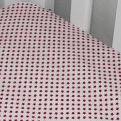 Scarlet Cot Fitted Sheet