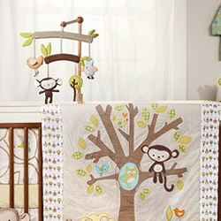 Animal Tree Window Valance