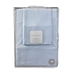 Blue Jersey Cot Sheets