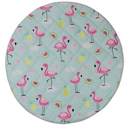 Flamingo Round Play Mat