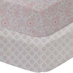 Gio Floral Cot Fitted Sheets