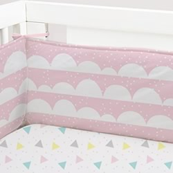 Ice Cream Cot Bumper