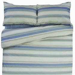 Oxford Blue Quilt Cover Set