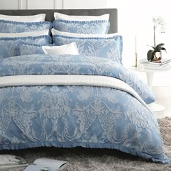 Berenice Blue Quilt Cover Set
