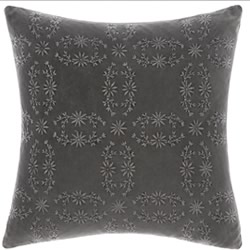 Abigail Charcoal Cushion