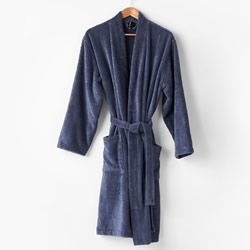 Nara Bluestone Bamboo Bath Robes