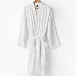 Nara White Bamboo Bath Robes