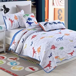 Dinotopia Coverlet Set