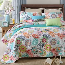 Jacinta Cotton Coverlet Set