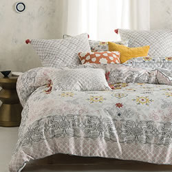 Demir Blue Quilt Cover Set