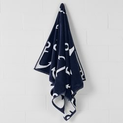 Dock Blue Beach Towel