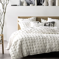 Haze White Quilt Cover Set