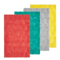 Jordan Spot Bath Tufted Mats