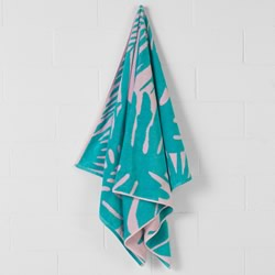 Montez Pink Beach Towel