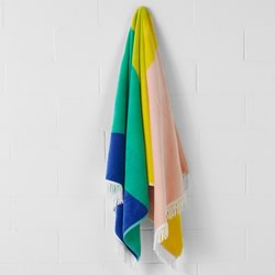 Paz Yelllow Beach Towel