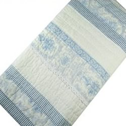 Juliet Blue Cot Quilt