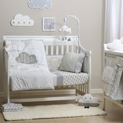Up In The Clouds Nursery Bedding