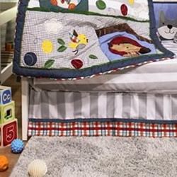 Puppy Pals Cot Valance