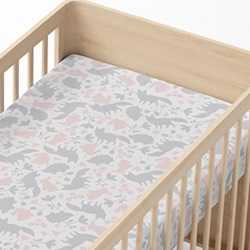 Forest Friends Cot Fitted Sheet