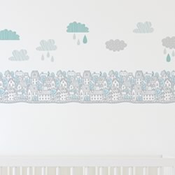 My City Wall Decal Set
