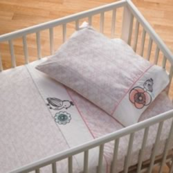 Sparrow Cot Sheet Set