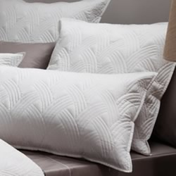 Addison White Pillowsham