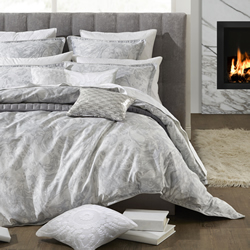 Alesso Silver Quilt Cover Set