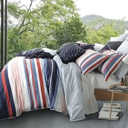 Amalfi Navy Quilt Cover Set
