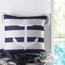 Anchor Navy Cushion