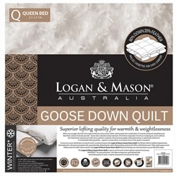 80 20 GOOSE Down And Feather Quilt