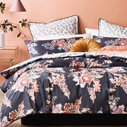 Tapestry Bloom Quilt Cover Set