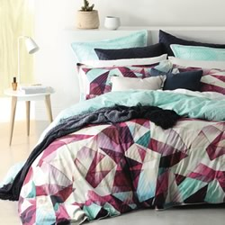 Apex Jewel Quilt Cover Set