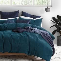 Barker Teal Quilt Cover Set
