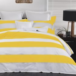 Bristol Yellow Quilt Cover Set
