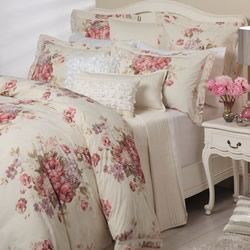 Garland Ivory Quilt Cover Set