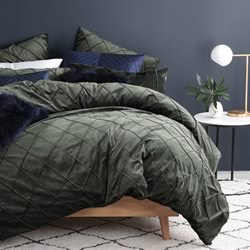 Huxley Moss Quilt Cover Set