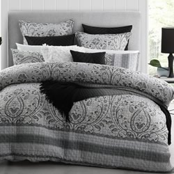 Basque Linen Quilt Cover Set