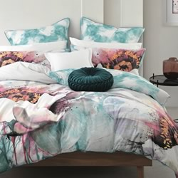 Burst Spa Quilt Cover Set