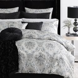 Cordelia Pearl Quilt Cover Set