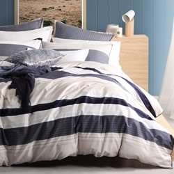 Hugo Stone Quilt Cover Set