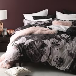 Isobel Plum Quilt Cover Set