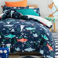 Chomp Chomp Quilt Cover Set