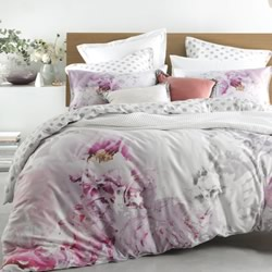 Peony Blush Quilt Cover Set